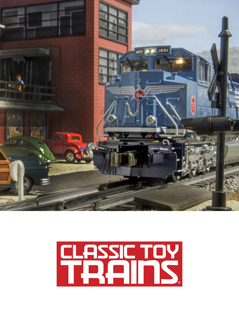 Visit Classic Toy Trains site and social media