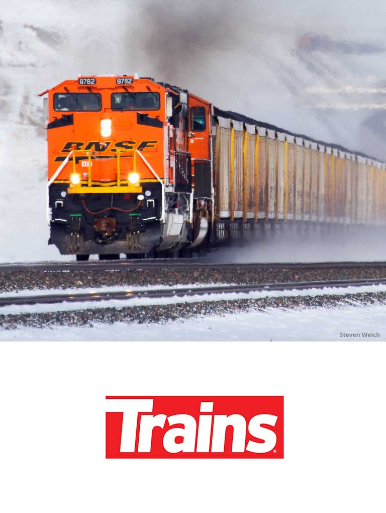 Visit Trains' site and social media