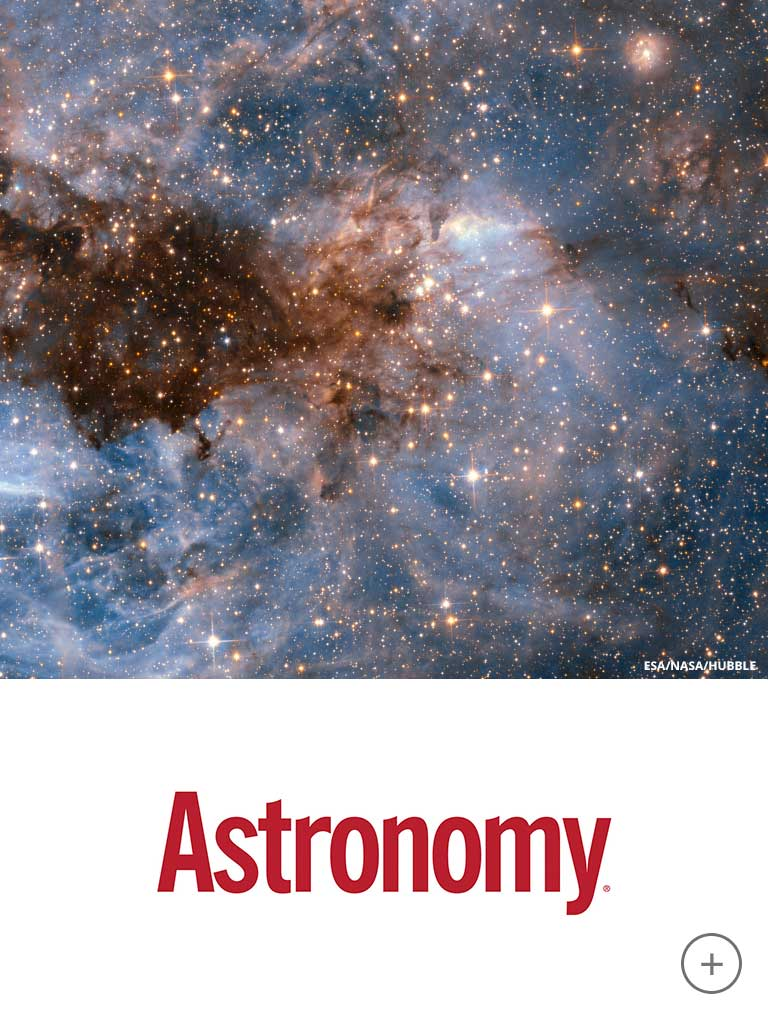 Visit Astronomy's site and social media