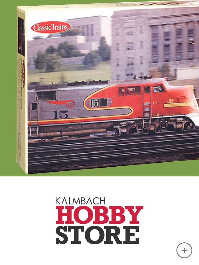 Visit the Kalmbach Hobby Store online