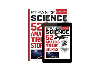 World's weirdest science stories take center stage in Discover magazine's first digital-to-print issue
